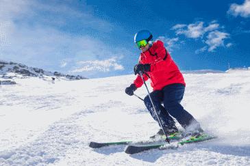 Jeder dritte Skifahrer fährt mit schlechter Sicht